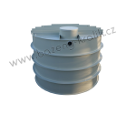 Retenční nádrž samonosná kruhová 7m3