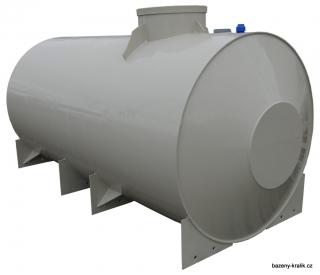 Ponorka válcová nádrž samonosná 6m3