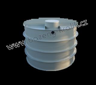 Retenční nádrž samonosná kruhová 5m3